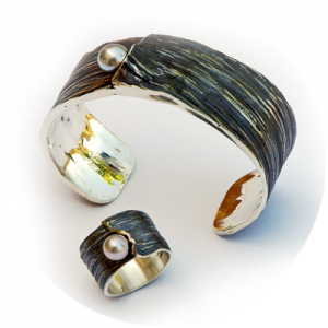 brazaletes de joyería contemporánea de autor