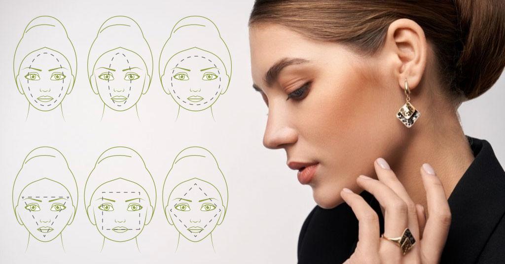Cómo elegir los pendientes ideales según la forma de tu cara